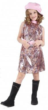 Desconocido Disfraz de los años 60 para niña: Amazon.es ...
