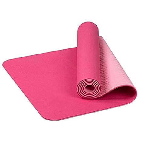 FCXBQ Yoga Mats Universal Outdoor 6mm TPE Antideslizante sin ...
