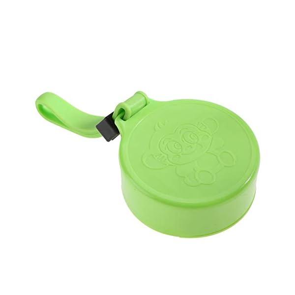Zerone Portable Juicer, 350-400ML Frullatore estrattore di succo di frutta ricaricabile Plactic USB ricaricabile(verde) 7 spesavip