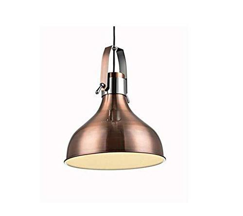 (WenMing Ceiling Lights Lamps Chandeliers Pendant Light Fixtures Retro Licht Vintage Pendant Light in Russet E27 for Loft Restaurant Kitchen for Bedroom Living Room Kitchen Aisle Restaurant Bar Cafe)