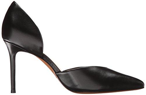 Marc Fisher Ltd Femmes Tammy Dorsay Pompe En Cuir Noir
