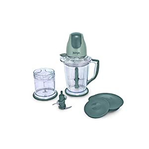 Ninja 400-Watt Blender/Food Processor for Frozen Blending, Chopping and Food Prep with 48-Ounce Pitcher and 16-Ounce…