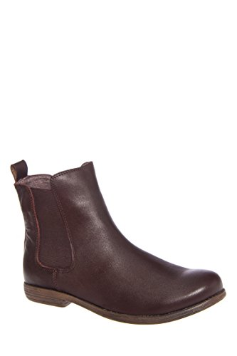 On Dual Jonas Pull Flat Bootie Chelsea Gore Crew Brown Leather Brown 7gnOHa