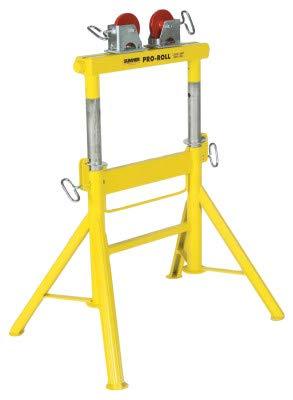 (Sumner Pro Roll Stands 2000 Lbs Capacity with Steel Wheels Head Type )
