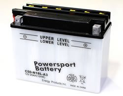 Replacement For Y50-N18L-A3 POWER SPORT BATTERY