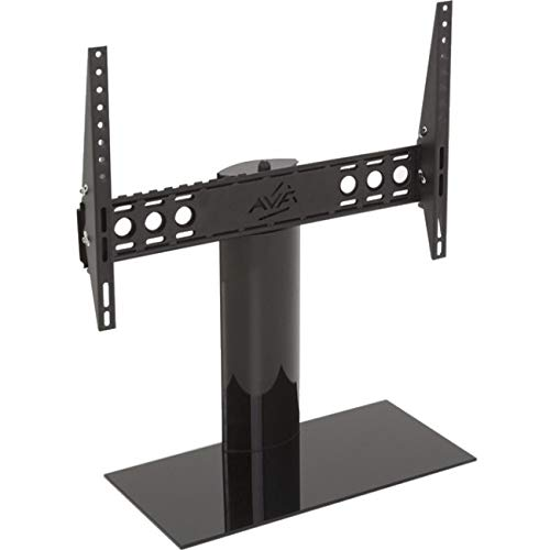 AVF B602BB-A Universal Table Top TV Stand / TV Base - Adjustable Tilt and Turn - Fits Most 46 to 65-Inch TVs - Black by AVF
