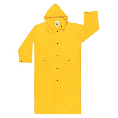River City 611-300CXL Wizard 0.28 mm. Pvc-Nylon Flame Coat With Detachable Hood - Yellow