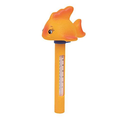 Jilong JL290475N -P54 Floating Animal Thermometer, schwimmender Pool Temperaturanzeiger in Celsius und Fahrenheit