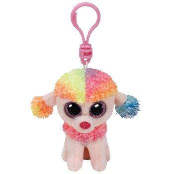 35027 - TY  - mulitcolor poodle clip 8cm
