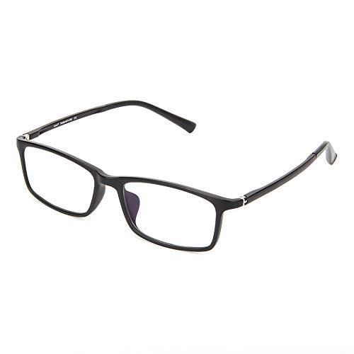 fatigue amp; Hommes Rétro tortue lunettes Blocage À Cyxus Lunettes Oculaire Noir Verres noir La femmes Transparents Or Mat De Lecture Anti Bleue Lumière 0qwAUZ