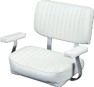 (Wise 8WD4000-710 Deluxe Helm Chair with Arm Rests, White)