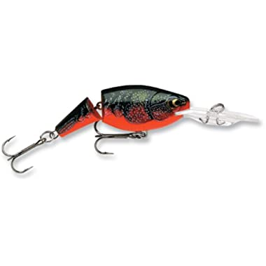 Rapala Jointed Shad Rap 04 Fishing lure (Red Crawdad, Size- 1.5)