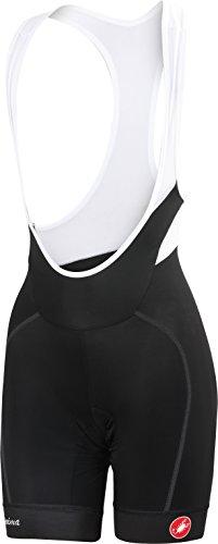Castelli Velocissima Bib Shorts - Women's Black, - Bib Women Shorts