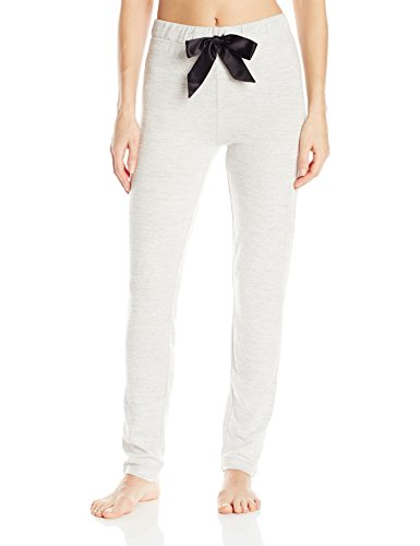 (Jockey Women's Brushed Sweater Knit Long Pant, Heather Grey, Medium)