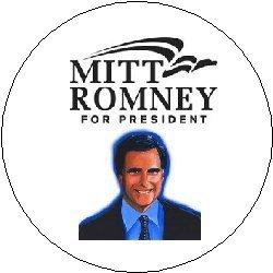 MITT ROMNEY FOR PRESIDENT 2012 Logo Political Pinback Button 1.25
