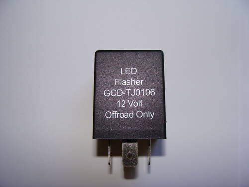 Led Tail Light Flasher Relay - 7
