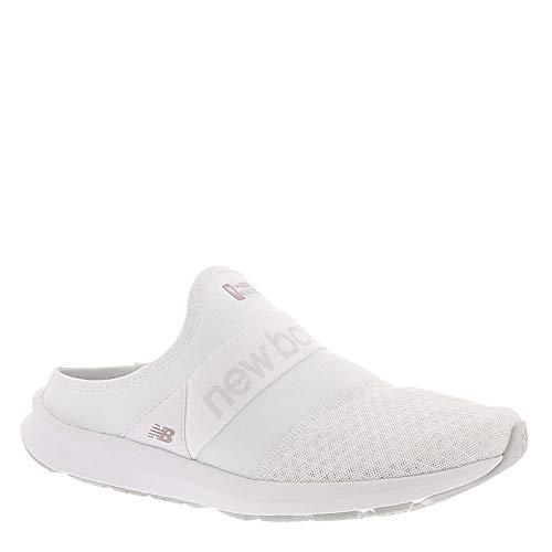 New Balance Women's Nergize V1 Fuel Core Sneaker, White/Summer Fog, 7 W US
