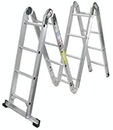 Amazon Com Werner 6 Foot 250 Pound Duty Rating Aluminum