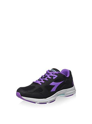Diadora Zapatillas Shape 5 Negro / Morado EU 40.5 (7 UK)