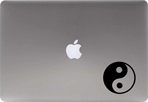yin yang macbook decal - 2