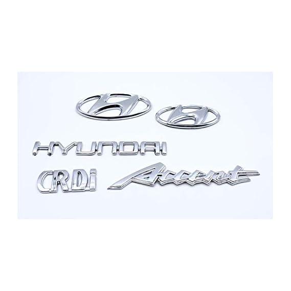 PINZU Hyundai Accent crd_i Hyundai Emblem