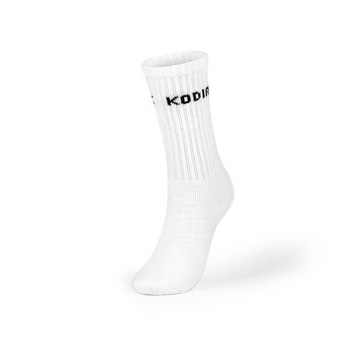 Kodiak - Women's Crew Socks 2 Pack - Style 628/2 - White
