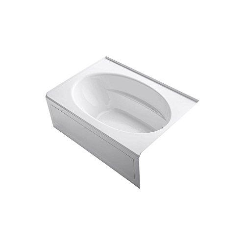 Windward Acrylic White (KOHLER K-1113-RA-0 Windward 5-Foot Bath with Integral Apron, White)