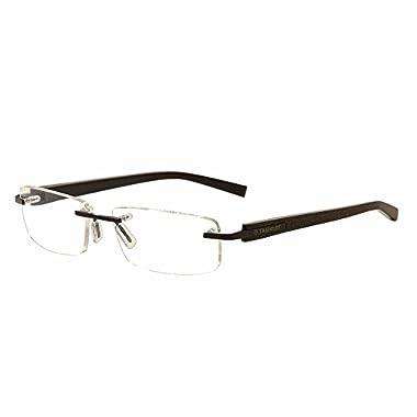 8a5d890405f Tag Heuer Trends Prescription Eyeglasses - 8104 010 - Chocolate (56-17-140