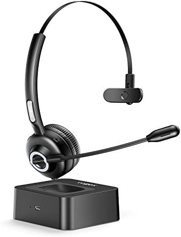 Trucker Bluetooth Headset With Microphone Vogek Noise Cancelling Mic Wireless Headphones With Charging Base Clear Hands Free Comfort Fit Headset For Home Office Online Class Pc Call Center Skype Armenian American Reporter