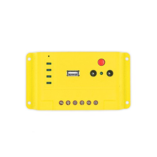 Newpowa 10A 12 PWM Solar Charge Controller Regulator USB & 1