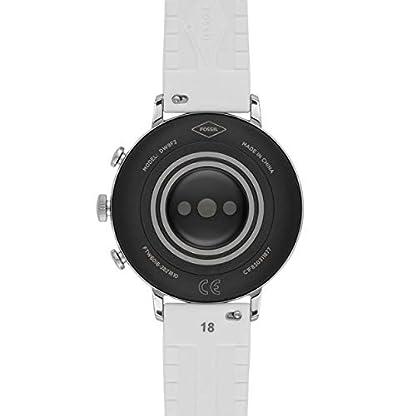 Fossil Damen Digital Smart Watch Armbanduhr mit Silikon Armband FTW6016 4