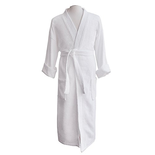 organic bamboo dressing gown - 5