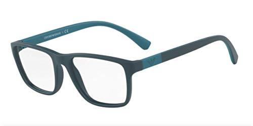 - Emporio Armani EA3091 Eyeglass Frames 5500 - Matte Green 53mm