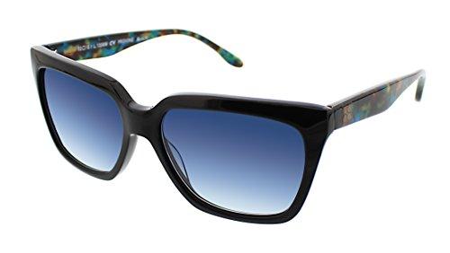 BCBGMaxazria Women's Provoke Square Sunglasses, Black, 43 - Sunglasses Bcbgmaxazria