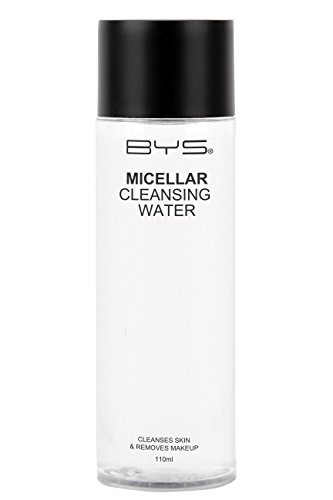 BYS Micellar Cleansing Water - Cleanses Skin and Removes Makeup, Fragrance and Paraben Free, 110Ml Cleanse skin remove makeup quickly and easily all-in-one liquid remover soothes face eyes lip makeup