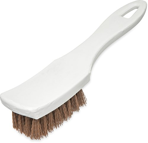 - Carlisle 4139525 Ergonomic Handled Scrub Brush, 7-1/4