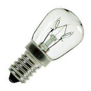 Oven Bulb E14 (Satco 07945 - 15W PYGMY 130V OVEN 300' E14 S7945 Indicator Light Bulb)