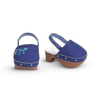 American Girl Blueberry Clogs for Dolls
