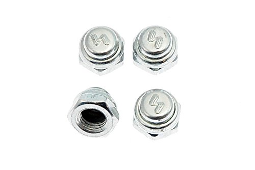 Silver Achsen Muttern Set