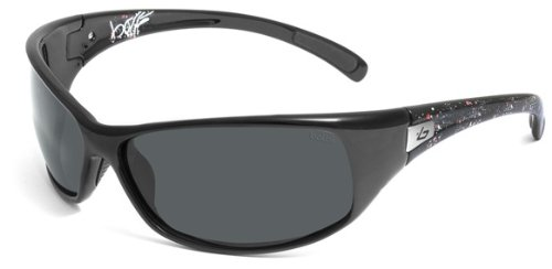 Bolle Recoil Sunglasses (Polarized TNS, Black - Polarized Bolle Recoil