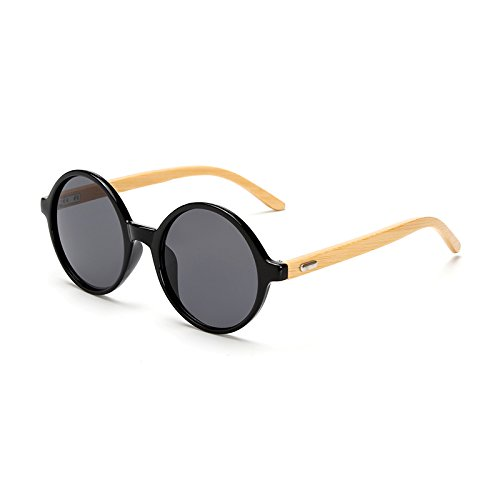 de kp1527 TL Gafas Madera para Sol C3 Espejo Mujeres Hombres de kp1527 C1 bambú Gafas de de Gafas Sunglasses wood Gafas Sol Gafas Mujer Sol de Atrás fqAPf