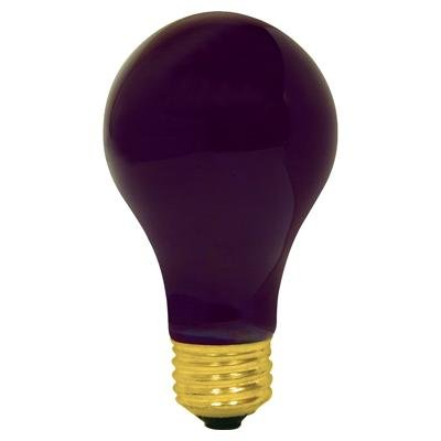 150 Watt A21 Black Light Industrial Grade Uv Light Bulb Long Life Blacklight Uv Bulb