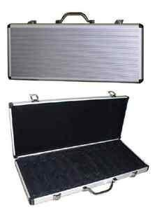 500 Expandable Poker Chip Locking Case Holds up to 650 Chips by Las Vegas Style