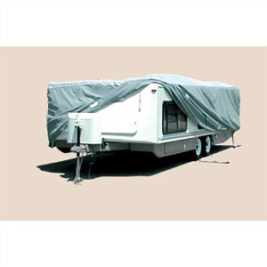 ADCO 12252 SFS AquaShed Cover for Hi-Lo RV Trailer, Fits up to 22'6' Trailers, Gray