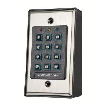 Alarm Controls Key Pad 100