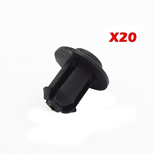 Price comparison product image PartsSquare 20pcs Fender Liner Fastener Rivet Push Clips Retainer Fastener for BMW