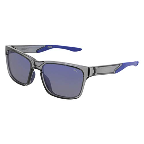 (Sunglasses Puma PU 0169 S- 004 GREY/BLUE)