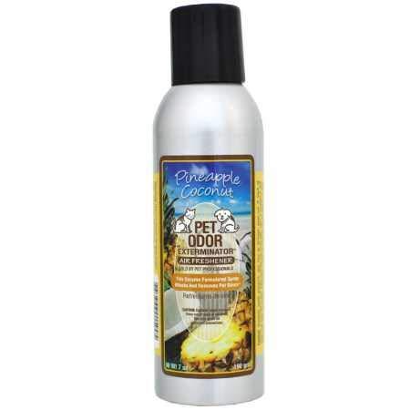 Pet Odor Exterminator & Air Freshener - Pineapple and Coconut