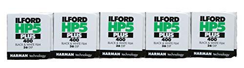 Ilford HP5 35mm ، 36 نوردهی ، 5 رول