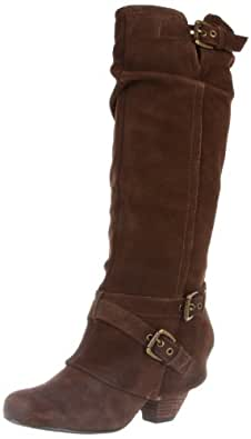 Naughty Monkey Women's Risk It Boot,Taupe,6 M US